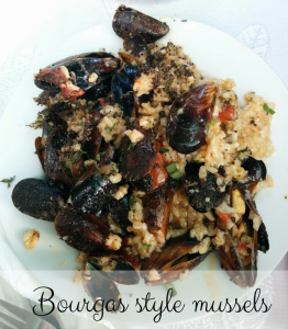 Bourgas style mussels